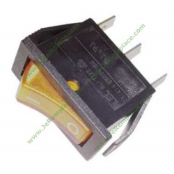 interrupteur orange 16A 11x30mm