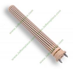 Résistance stéatite mono 2 bornes 52X455 2400W 220 Volts