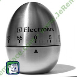 OEUF MINUTERIE ELECTROLUX INOX