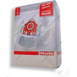 sacs fibres Intensive Clean FJM pour aspirateur Boite origine Miele