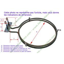 Klixon rearmable 140°nc seche linge