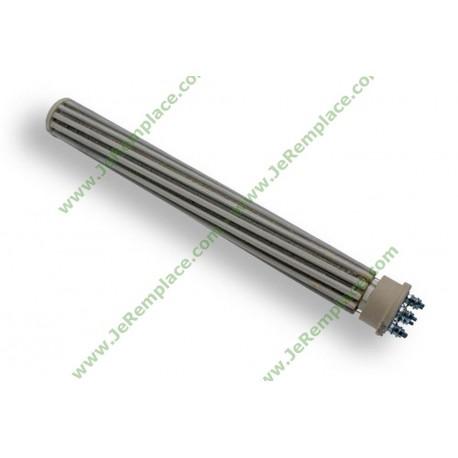 Résistance stéatite de chauffe eau D47 L430 TRI/MONO 2400 Watts