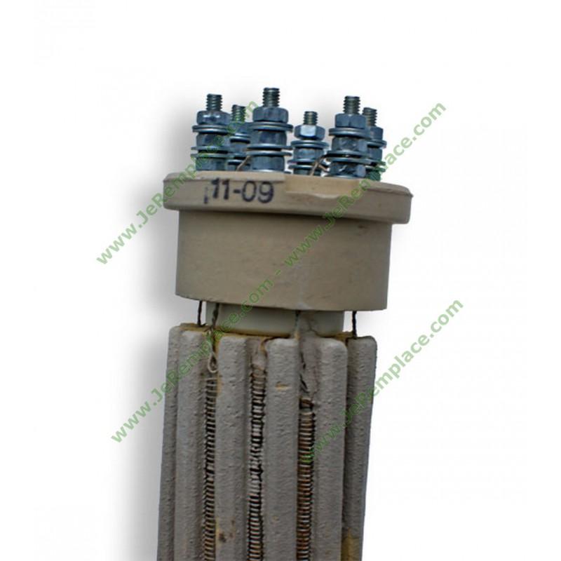R sistance st atite de chauffe eau d47 l430 tri mono 2400 watts - Chauffe eau resistance steatite et anode titane cumulus ...