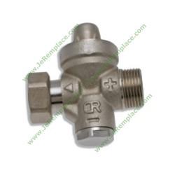 Réducteur de pression M/F 3/4 20/27 réglage de 1,5 - 4 bar pour chauffe eau