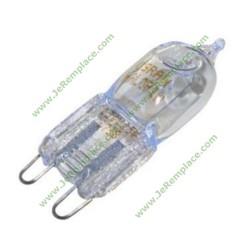 Ampoule de four G9 18 Watts 230V résiste à 300 Degrée