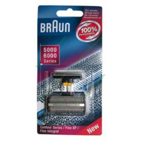 Grille rasoir Braun Combipack 504/505 - Séries 5000/6000