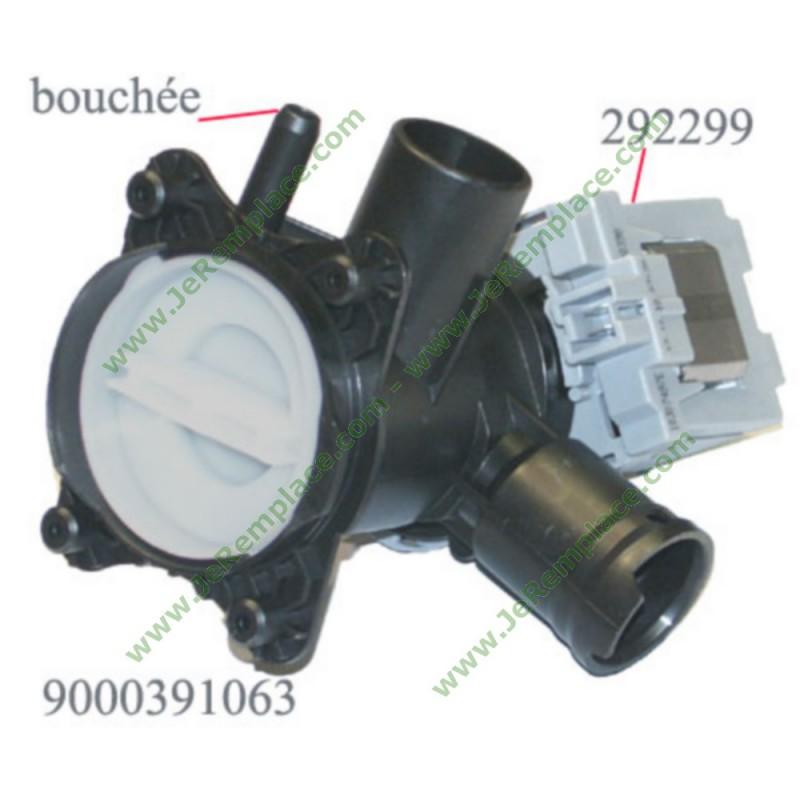 pompe de vidange 00144617 00145338 lave linge bosch 00145338