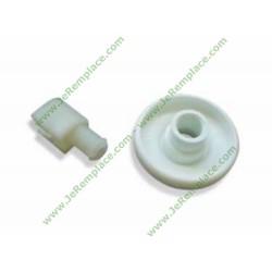 50246875004 Roulette de panier inférieur blanche pour lave vaisselle