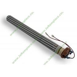 Résistance stéatite de chauffe eau 2000 Watts D32 L390 220 Volts 2 Bornes