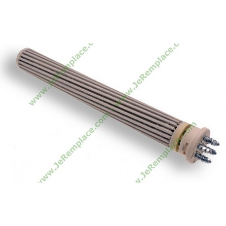 R sistance de chauffe eau st atite mono tri 52x450 mm for Resistance steatite chauffe eau