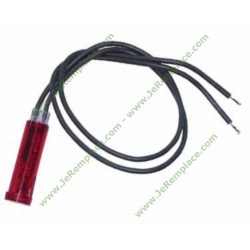 Voyant rouge 685266599 Diamètre 9mm table de cuisson Electrolux