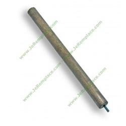 Anode chauffe eau 14mm Longueur 210mm. Filetage M4.