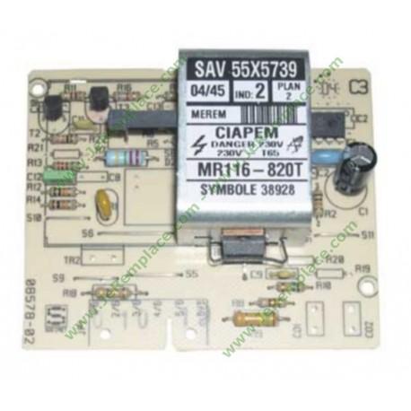 CARTE ELECTRONIQUE MR116-820T