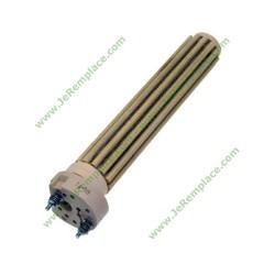 Résistance stéatite 1500 Watts diamètre 38mm L 390MM 220 Volts
