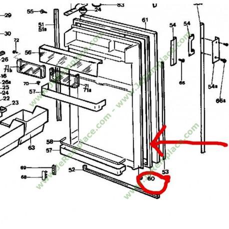 joint de porte pour refrigerateur 93x1942 r frigerateur groupe fagor brandt. Black Bedroom Furniture Sets. Home Design Ideas