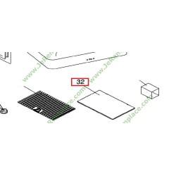 filtre charbon 48x29cm dhd7120x hotte groupe fagor brandt. Black Bedroom Furniture Sets. Home Design Ideas