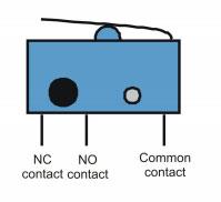 Micro switch de serrure de portail automatique