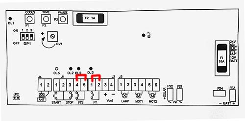 Pontage Shunt électrique carte ctr57