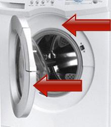 plaque signalétique lave linge